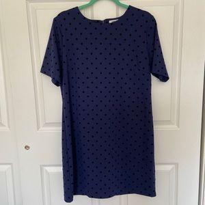 NWT Old Navy Polka Dot Dress — Sz Large